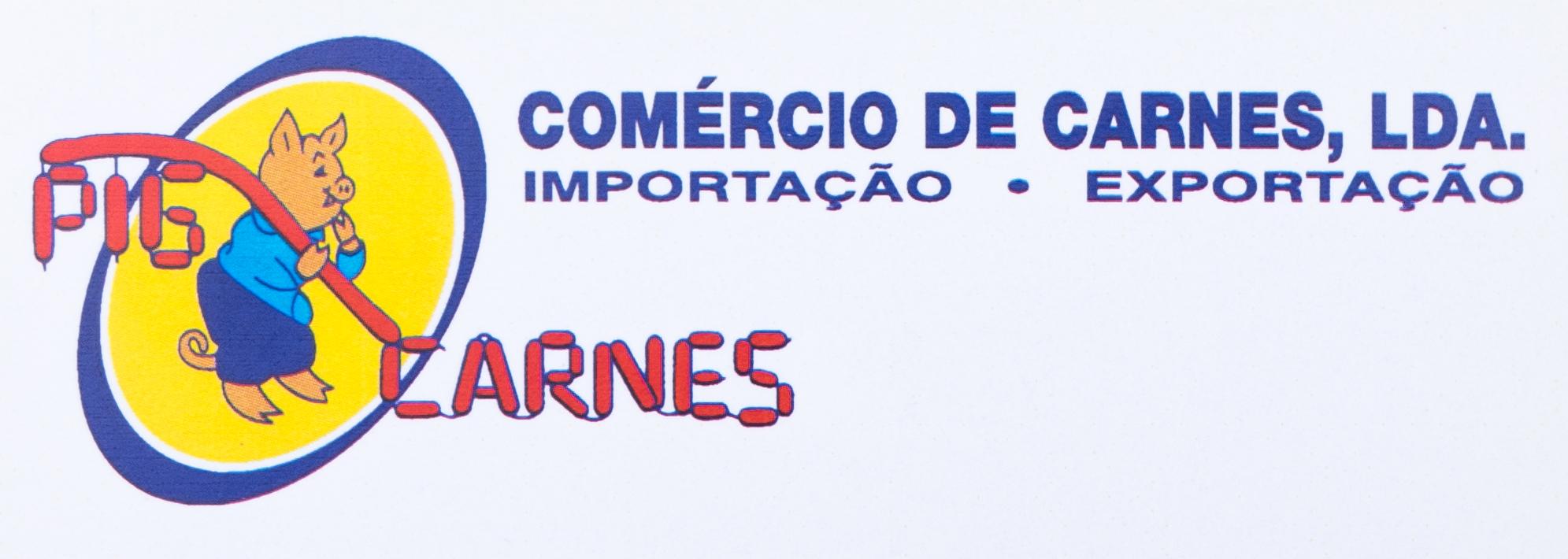 Pig Carnes 2º Logo Azul e Amarelo